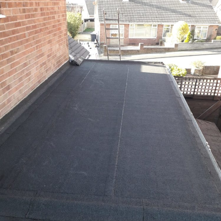 New Flat Roof - Longton, Stoke-on-Trent
